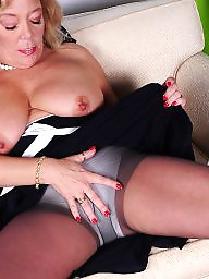 Old mature, Stocking mature, Stockings mature