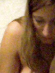 Bathroom, Spy, Teen tits, Teen voyeur
