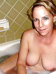 Bathroom, Mature shower