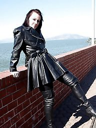 Latex, Pvc, Mature, Boots, Leather, Mature pvc
