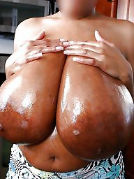 Black, Black bbw, Monster, Monster boobs, Ebony boobs