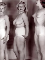 Vintage, Naked, Women, Group, Vintage amateur, Groups