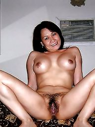 Natural, Mature women, Hairy milf