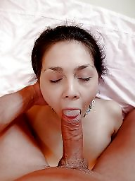 Facial, Blowjob, Cock, Sucking, Amateur facial, Cock sucking