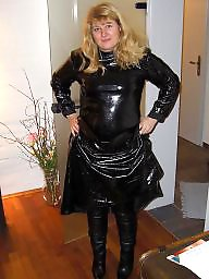 Leather, Latex, Amateur mature, Mature leather, Mature amateur, Mature latex