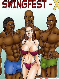 Cartoon, Interracial cartoon, Interracial, Interracial cartoons