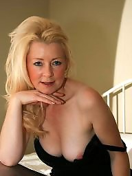 Uk mature, Sexy mature, Blonde milf, Blonde mature, Sexy stockings, Mature blonde