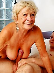 Mommy, Mommies, Old mature, Mature young, Mature blowjob