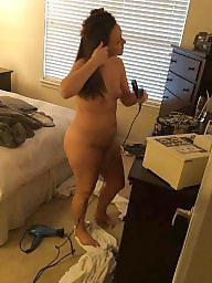Wife amateur, Wife ass, Unaware