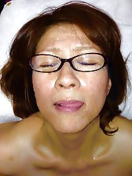 Facial, Japanese, Mature facial, Asian mature, Japanese mature, Mature asian