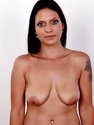 Piercing, Pierced, Nipples, Compilation, Big nipples, Big tit
