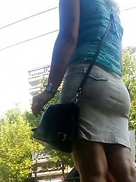 Skirt, Hidden, Mini skirt, Romanian, Spy, Teen skirt