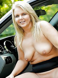 Car, Mature big boobs, Women, Big mature, Cars, Mature boobs