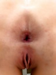 Spreading, Spread, Gaping, Gape, Anal gape, Ass spreading