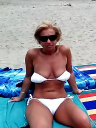 Mature beach, Beach, Lady, Mature lady, Beach mature