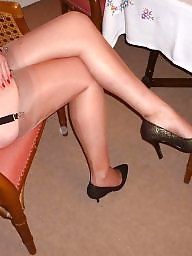 Stocking, Legs, Mature stocking, Mature legs