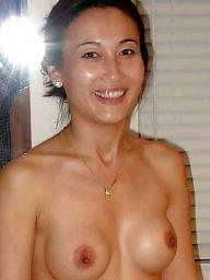 Naked, Asian tits