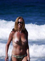 Mature beach, Beach mature, Mature ladies