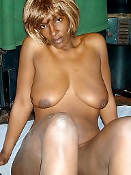 African, Mature ebony, Black mature, Ebony mature, Melons, Natural