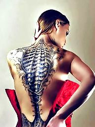 Tattoo, Beauty, Beautiful