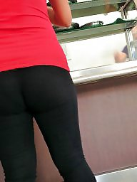Spandex, Milf ass, Nice ass
