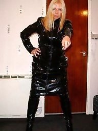 Leather, Pvc, Prostitute, Mature leather, Femdom mature, Mature femdom