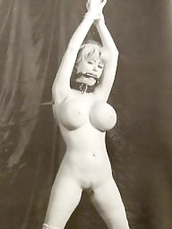 Bondage, Busty, Vintage boobs