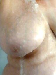 Shower, Bbw boobs, Showers, Bbw voyeur