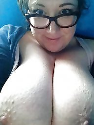 Glasses, Topless, Glass, Amateur big tits