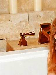 Redhead, Hairy, Shower, Showers, Hairy shower, Redheads