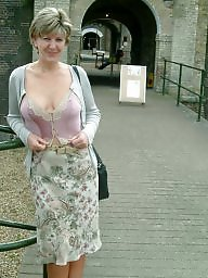 Mature, Park, Garden, Mature tits, Parking
