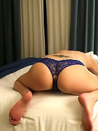 Hotel, Night, Brunette ass