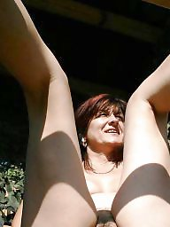 Big, Mature boobs, Public boobs, Mature public
