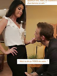 Cuckold, Captions, Caption, Femdom, French, Cuckold caption