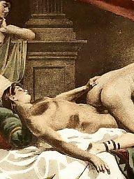 Vintage, Erotic, Art, Vintage cartoons, sex, Vintage sex