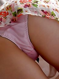 Asian, Panties, Upskirt stockings, Love, Asian stockings