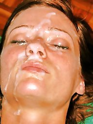 Facial, Face, Facials, Cummed, Cum on face
