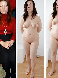 Dressed undressed, Before after, Mature dressed, Mature dress, Undressing, Undressed