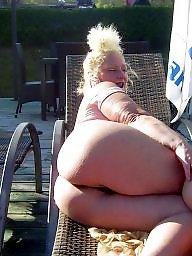 Blonde milf, Bbw blonde