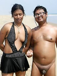 Indian, Asian, Nudist, Nudists, Public flashing, Public asian