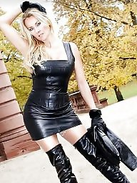 Latex, Leather, Pvc, Boots, Mature boots, Mature leather