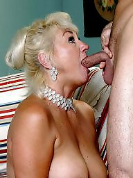 Granny, Granny blowjob, Mature blowjob, Sucking, Mature granny, Suck