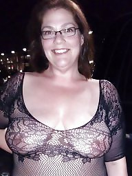 Downblouse, Transparent, Huge boobs, Huge, Compilation, Flashing