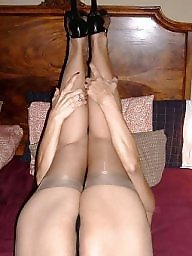 Heels, Mature heels, Latin mature, Mature stocking, Stocking mature