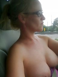 Car, Mature boobs, Cars, Women, Mature car, Big mature