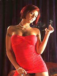 Smoking, Hot, Smoke, Pink