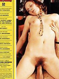 Vintage, Fantasy, Magazine, Hairy vintage, Vintage hairy