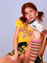 Redhead, Teen porn