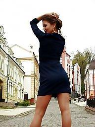 Russian, Russian teen, Nylon teen, Girl