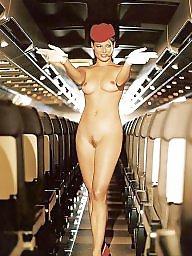Stewardess, Public nudity